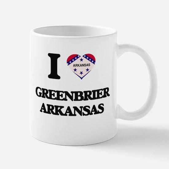 I love Greenbrier Arkansas Mugs