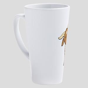 one big billy 17 oz Latte Mug