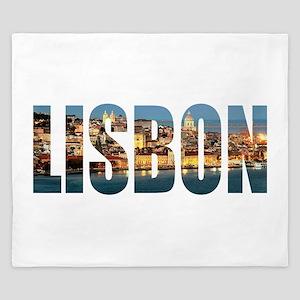 Lisbon King Duvet