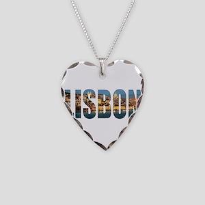 Lisbon Necklace Heart Charm