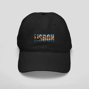 Lisbon Black Cap with Patch