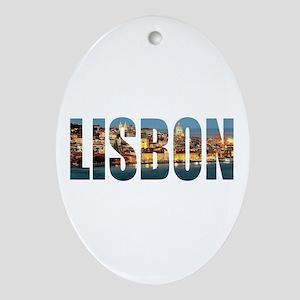Lisbon Oval Ornament