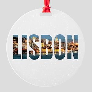 Lisbon Round Ornament