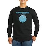 Chronokari Alpha Dark Long Sleeve T-Shirt Logo
