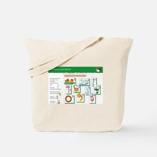 Memory Technique  Tote Bag