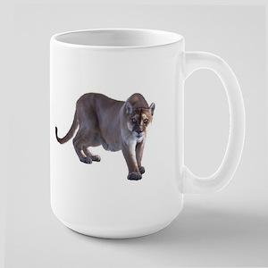 Stalking Cougar Large Mug