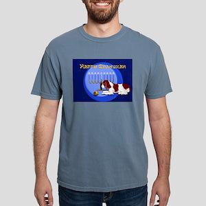 Springer Chanukah Black T-Shirt