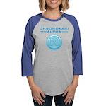 Chronokari Alpha Logo Baseball Long Sleeve T-Shirt
