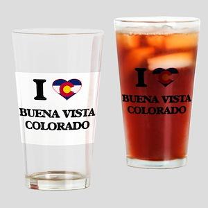 I love Buena Vista Colorado Drinking Glass