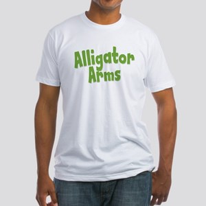 Alligator Arms Fitted T-Shirt
