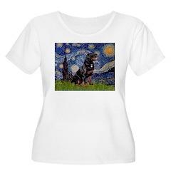 Starry/Rottweiler (#6) T-Shirt