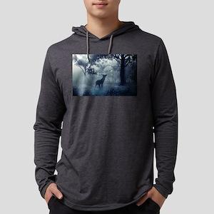 Deer in the Mist Long Sleeve T-Shirt