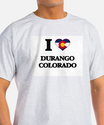I love Durango Colorado T-Shirt