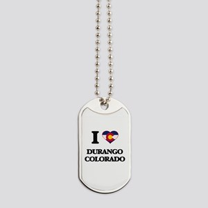 I love Durango Colorado Dog Tags