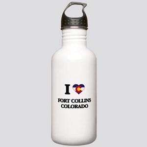 I love Fort Collins Co Stainless Water Bottle 1.0L