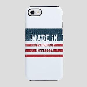 Made in Strandquist, Minnesota iPhone 7 Tough Case