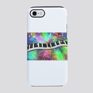 Rainbow Keyboard iPhone 7 Tough Case