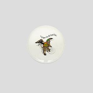 Flying Monkey Mini Button