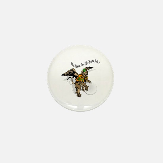 Flying Monkey Mini Button