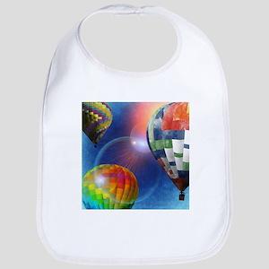 Hot Air Balloon Festival Baby Bib