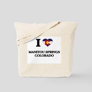 I love Manitou Springs Colorado Tote Bag