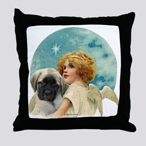 Fawn pup w/Angel Throw Pillow