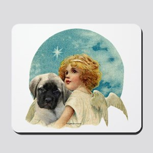 Fawn pup w/Angel Mousepad