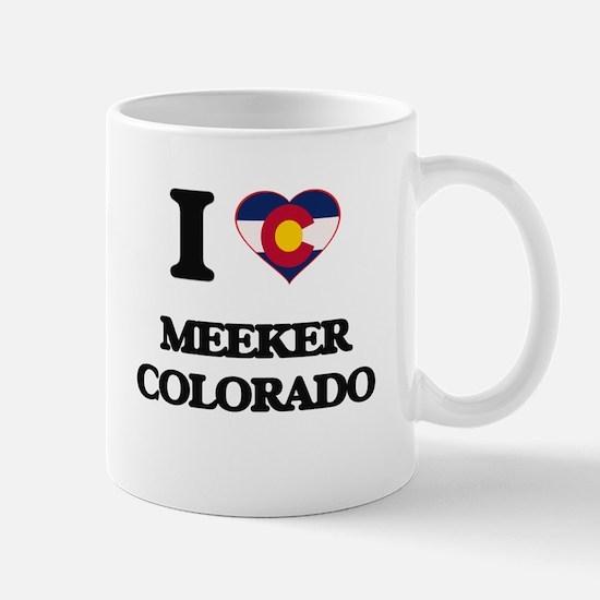 I love Meeker Colorado Mugs