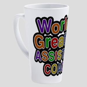World's Greatest ASSISTANT COACH Latte Mug