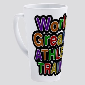 World's Greatest ATHLETIC TRAINER Latte Mug