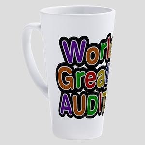 World's Greatest AUDITOR Latte Mug