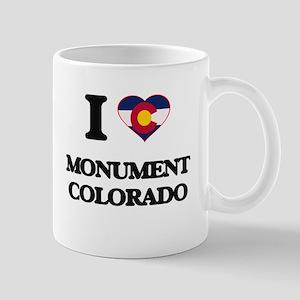 I love Monument Colorado Mugs