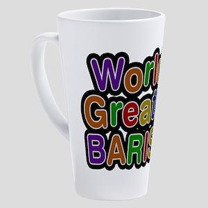 World's Greatest BARISTA Latte Mug