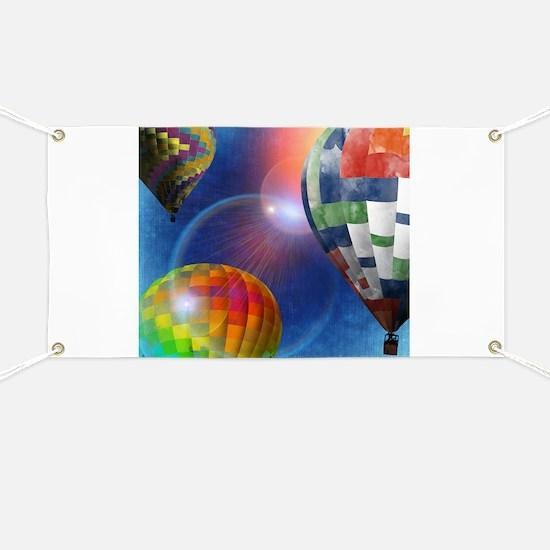 Hot Air Balloon Festival Banner