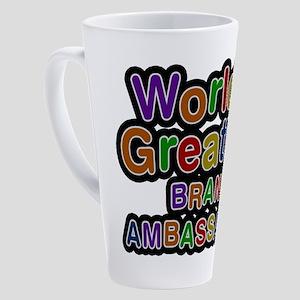 World's Greatest BRAND AMBASSADOR Latte Mug