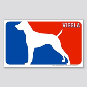 """Vissla"" MLD Rectangle Sticker"