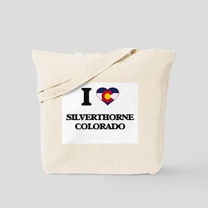 I love Silverthorne Colorado Tote Bag