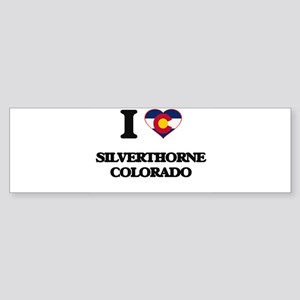 I love Silverthorne Colorado Bumper Sticker