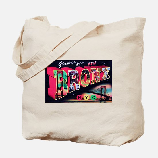 Bronx New York City Tote Bag