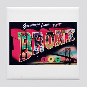 Bronx New York City Tile Coaster
