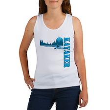 Kayaker (Blue) Women's Tank Top