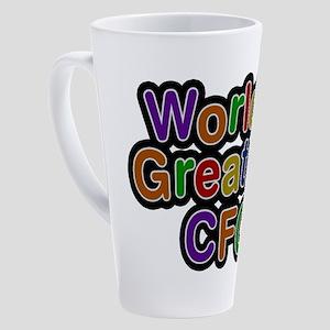 World's Greatest CFO Latte Mug