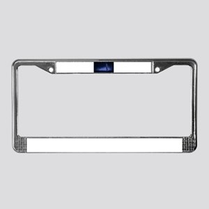 Woman Beneath the Stars License Plate Frame