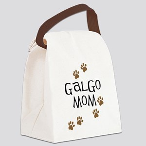 Galgo Mom Canvas Lunch Bag