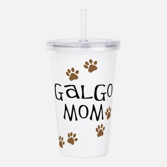 Galgo Mom Acrylic Double-wall Tumbler
