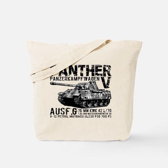 Panther Tank Tote Bag