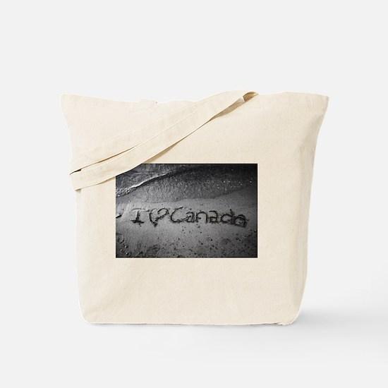 I heart Canada Tote Bag