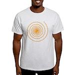 Candy Corn Spiral Light T-Shirt