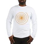 Candy Corn Spiral Long Sleeve T-Shirt