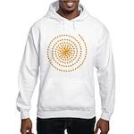 Candy Corn Spiral Hooded Sweatshirt